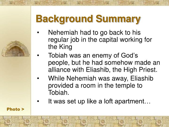 Background Summary
