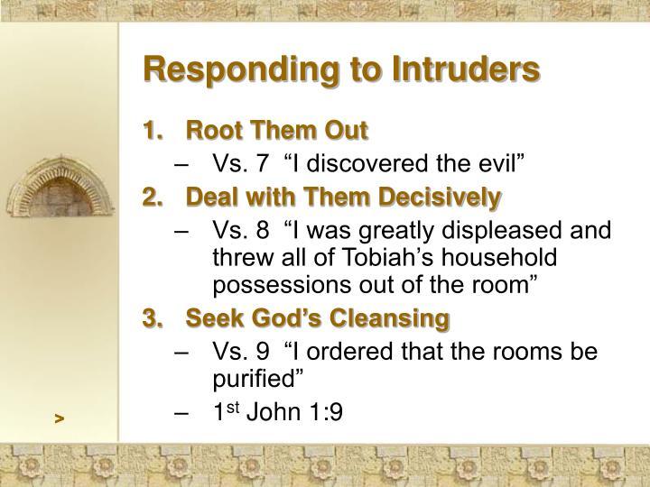 Responding to Intruders