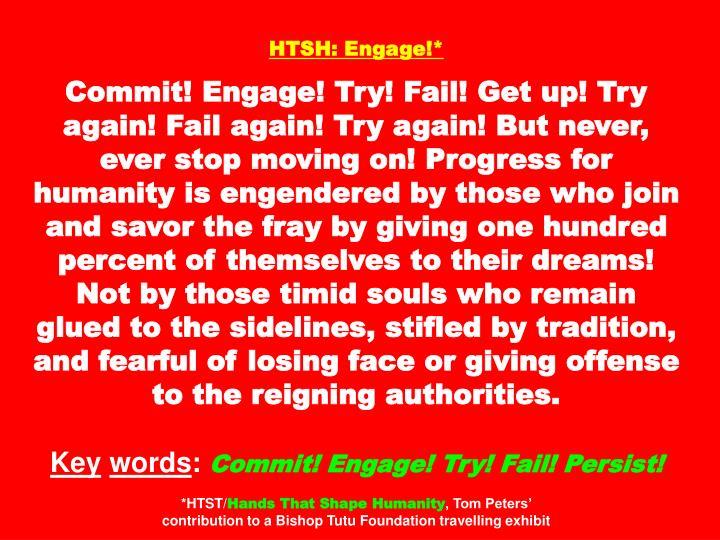 HTSH: Engage!*