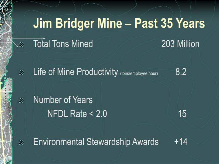 Jim Bridger Mine