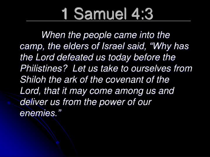 1 Samuel 4:3