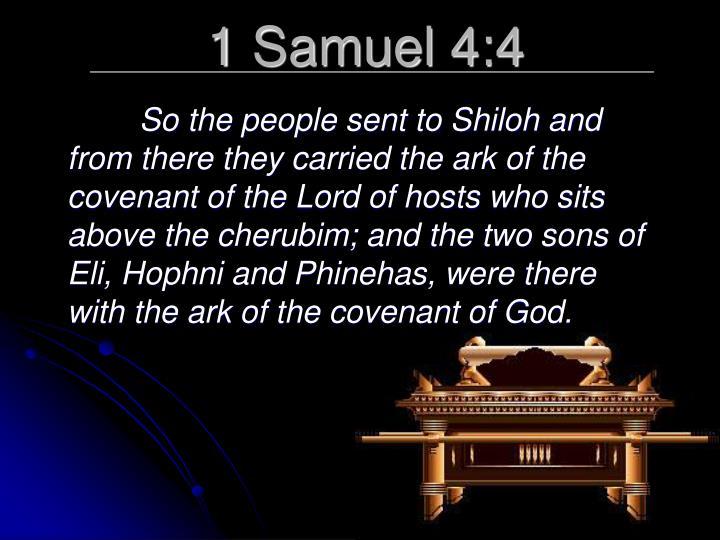1 Samuel 4:4