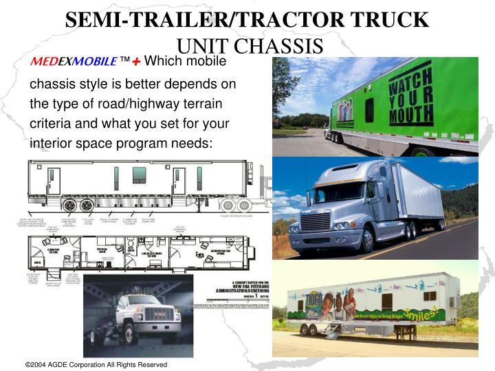 SEMI-TRAILER/TRACTOR TRUCK