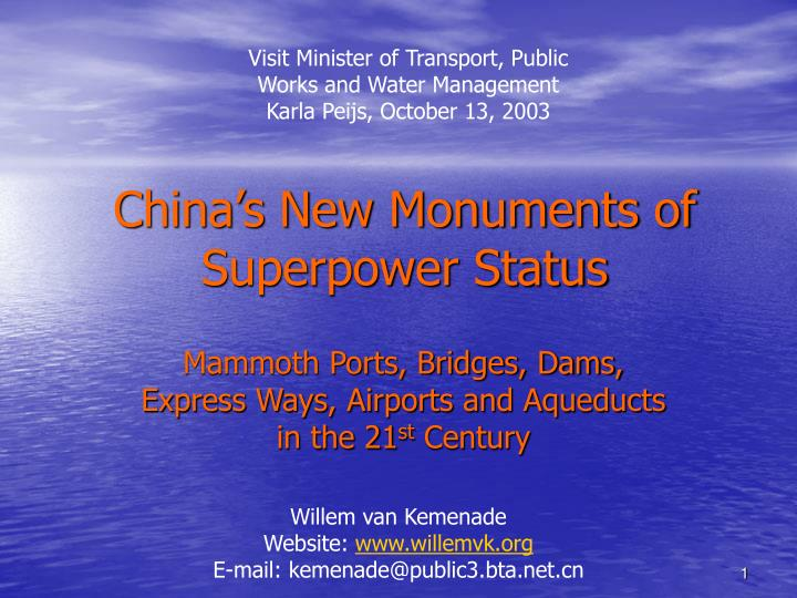 china s new monuments of superpower status