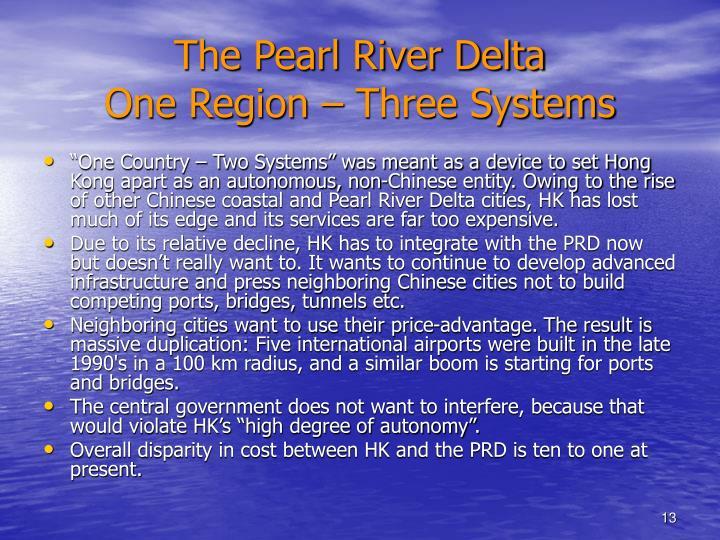 The Pearl River Delta