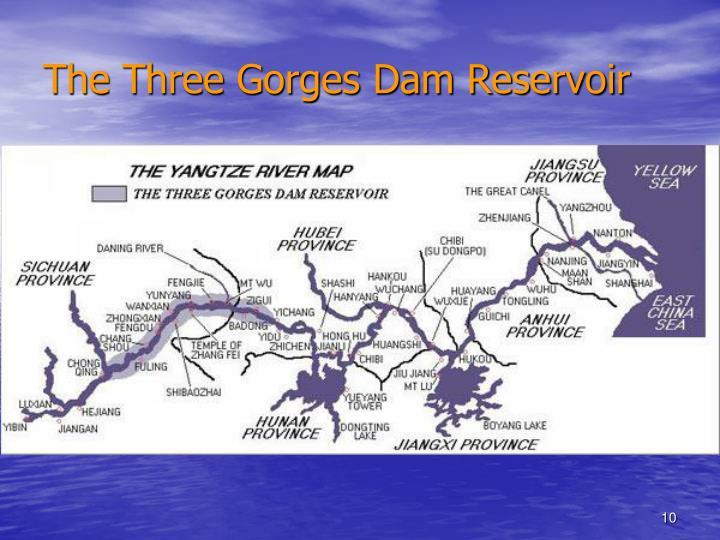 The Three Gorges Dam Reservoir