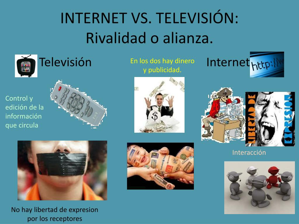 INTERNET VS. TELEVISI