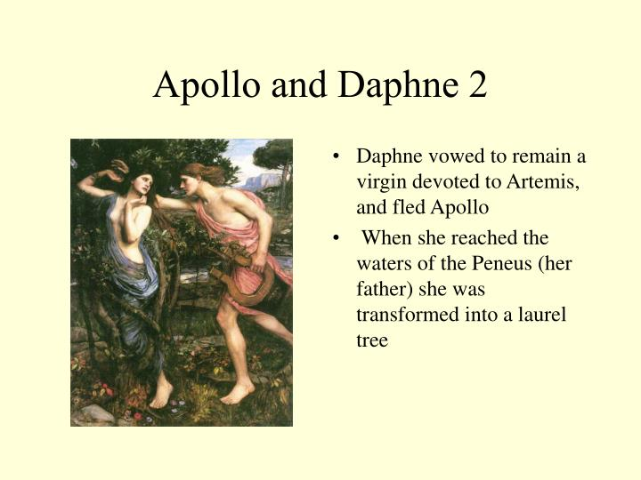 Apollo and Daphne 2