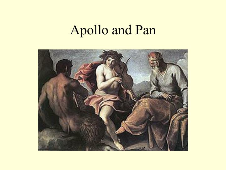 Apollo and Pan