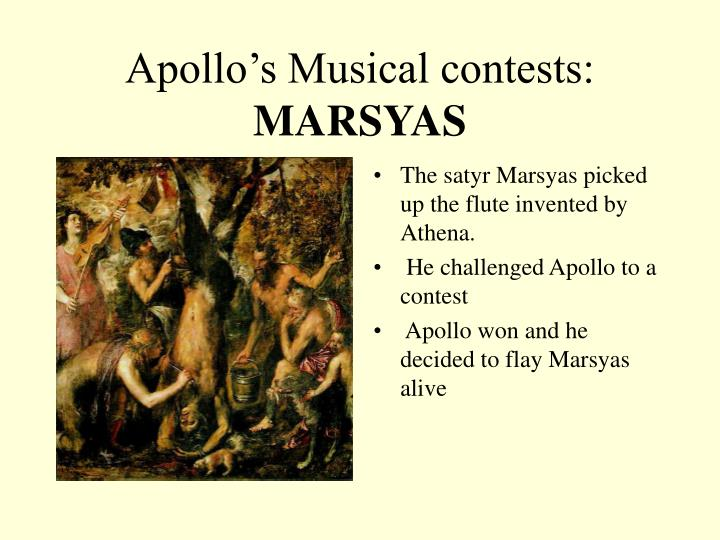 Apollo's Musical contests: