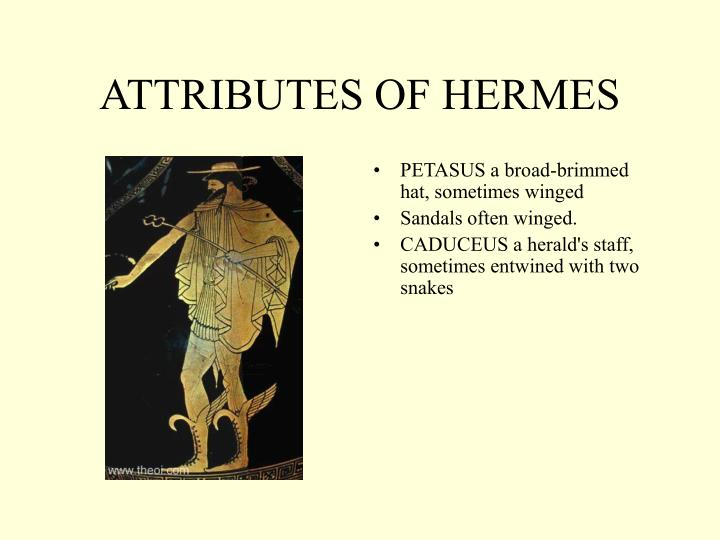 ATTRIBUTES OF HERMES
