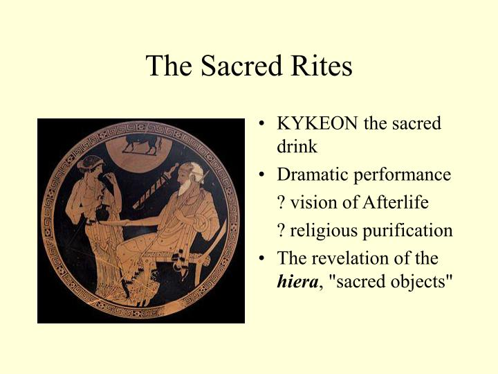 The Sacred Rites