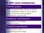 8 qhi core measures