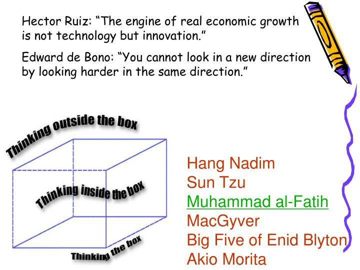 """Hector Ruiz: """"The engine of real economic growth is not technology but innovation."""""""
