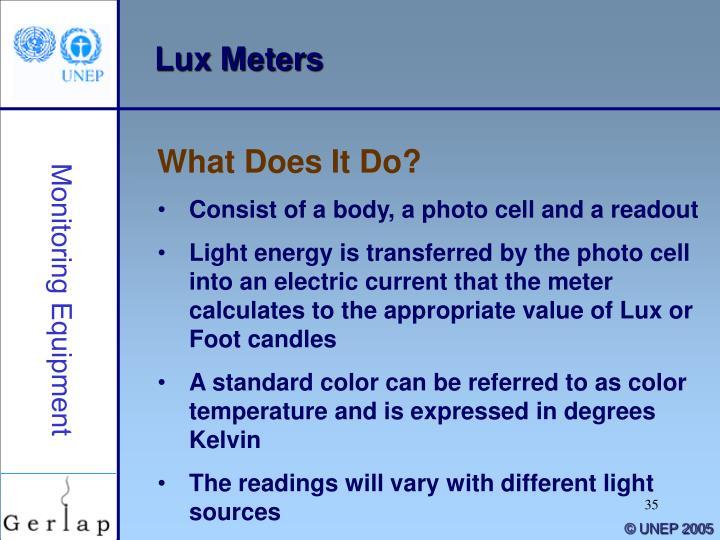 Lux Meters