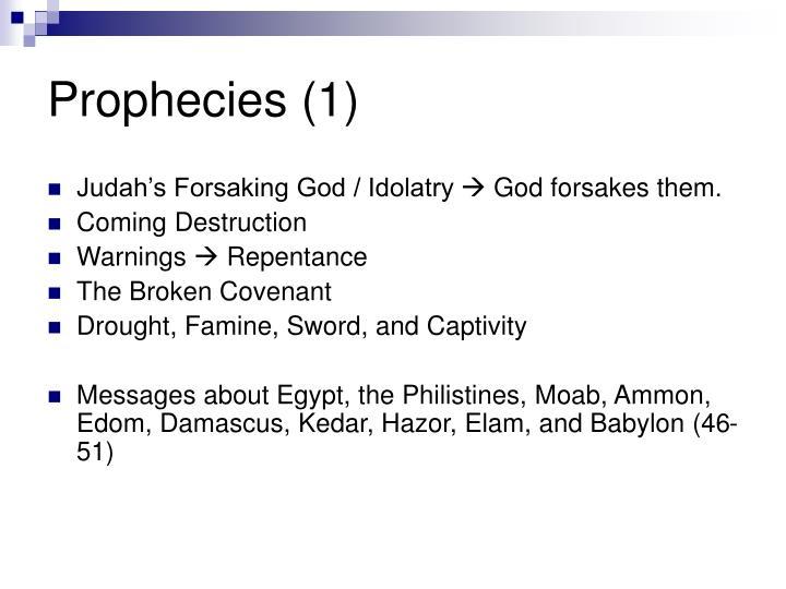 Prophecies (1)