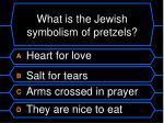 what is the jewish symbolism of pretzels