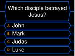 which disciple betrayed jesus