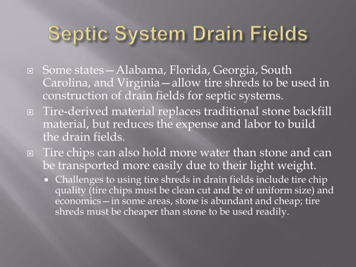 Septic System Drain Fields