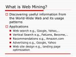 what is web mining