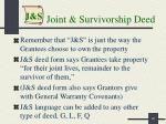 joint survivorship deed1