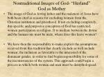 nontraditional images of god herland god as mother