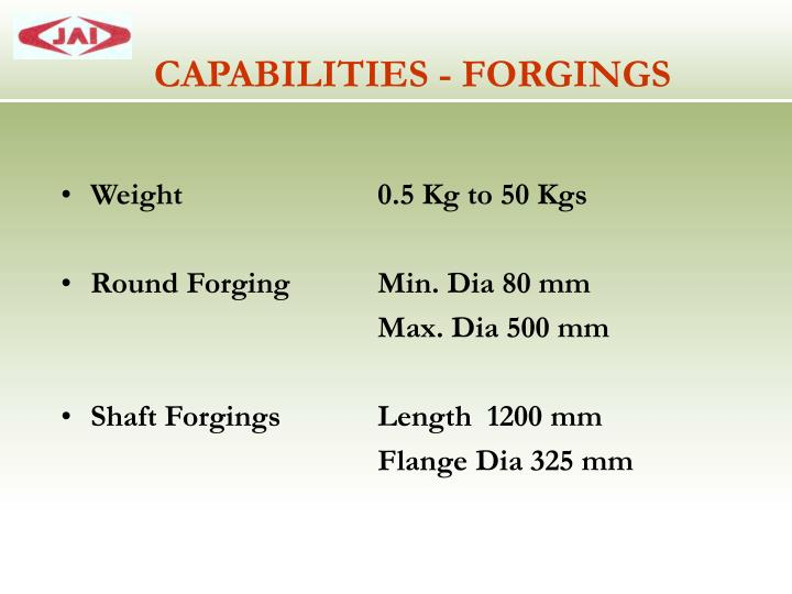 Weight 0.5 Kg to 50 Kgs