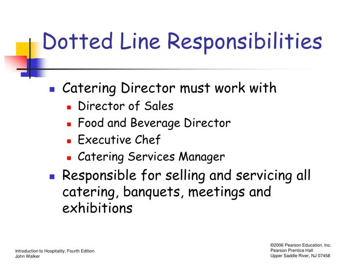 Dotted Line Responsibilities