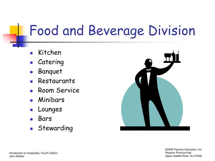 Food and beverage division