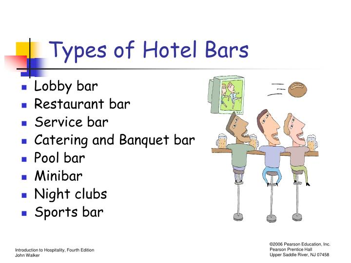 Types of Hotel Bars