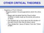 other critical theories5