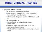 other critical theories7