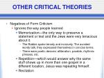 other critical theories9