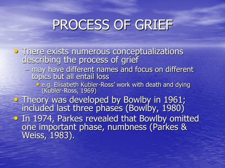 PROCESS OF GRIEF