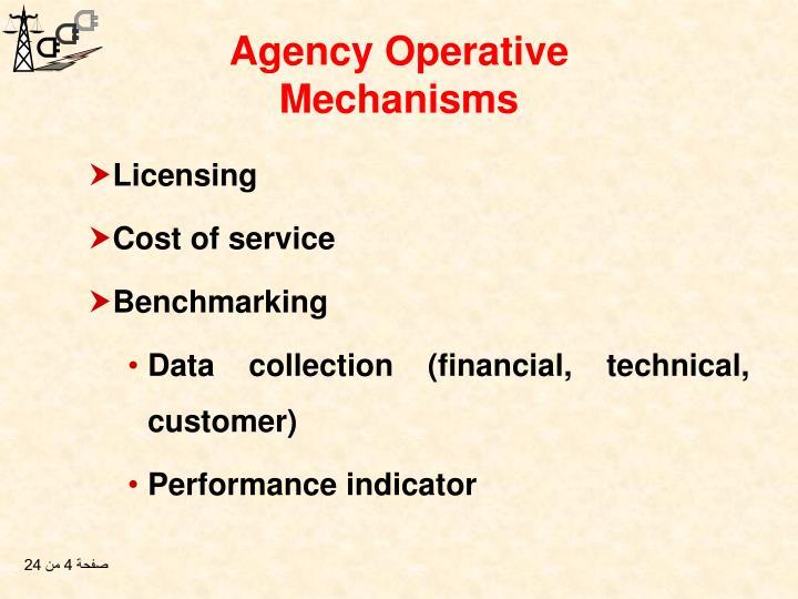 Agency Operative