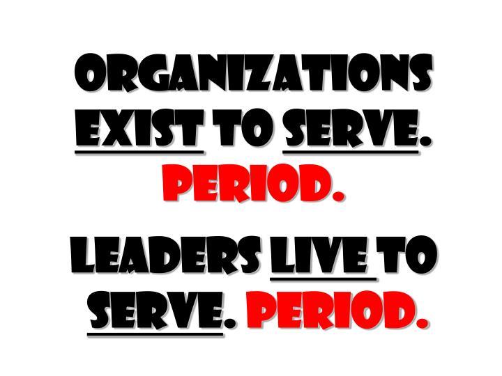 Organizations