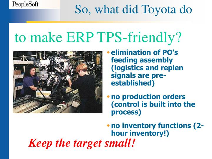 So, what did Toyota do