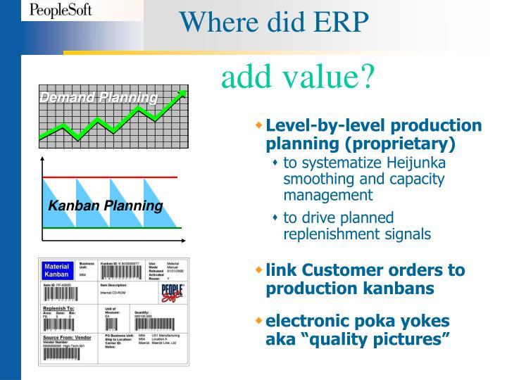 Where did ERP