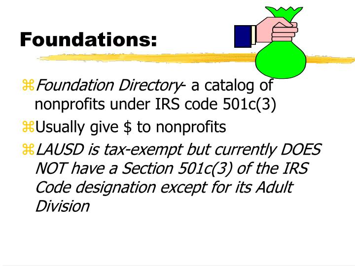 Foundations: