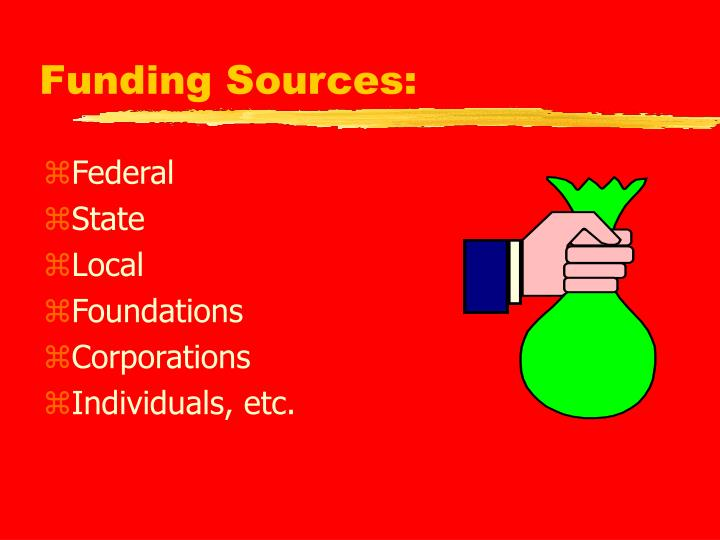 Funding Sources: