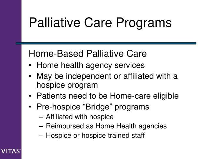 Palliative Care Programs