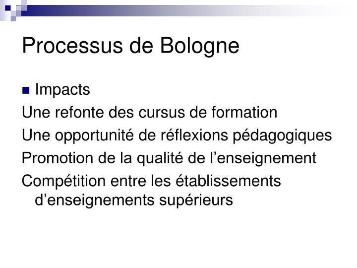 Processus de Bologne