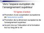 vers l espace europ en de l enseignement sup rieur11