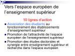 vers l espace europ en de l enseignement sup rieur12