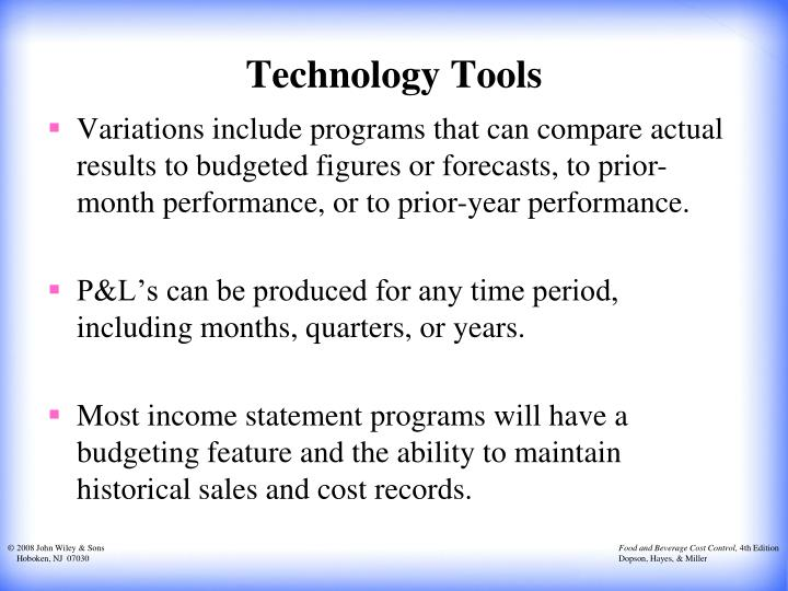 Technology Tools