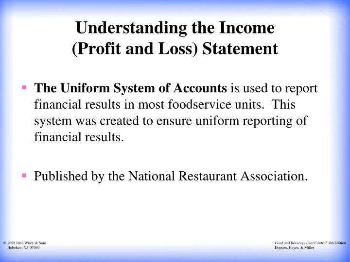 Understanding the Income