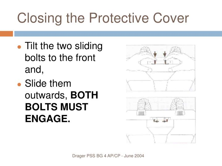 Closing the Protective Cover
