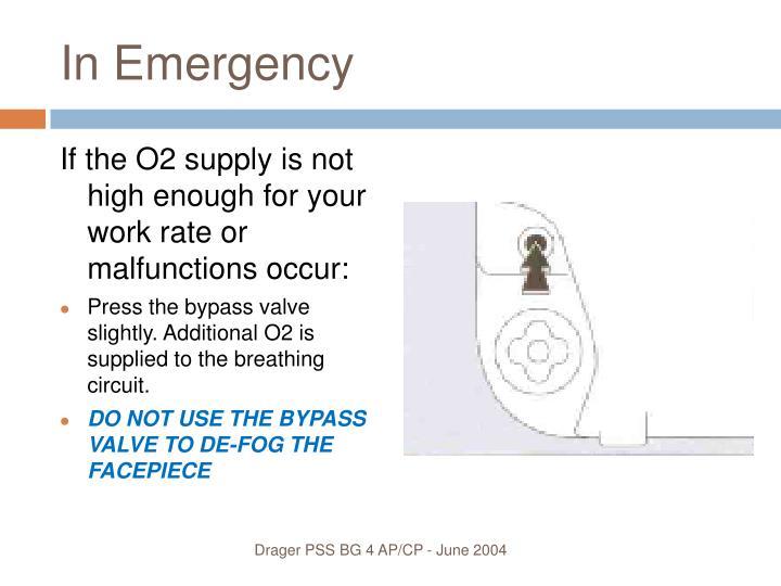 In Emergency