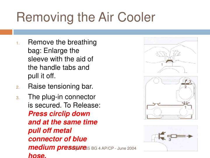 Removing the Air Cooler
