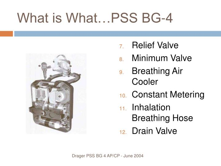 What is What…PSS BG-4